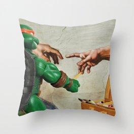 Spare Time Throw Pillow