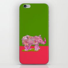 Too Pretty in Pink  iPhone Skin