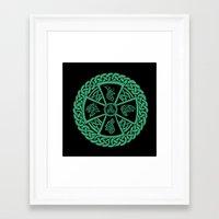 celtic Framed Art Prints featuring Celtic Nature by Astrablink7