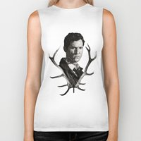 true detective Biker Tanks featuring True Detective by ConnorEden