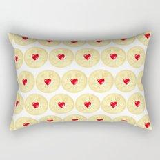 Jammie Dodger, Biscuit Rectangular Pillow