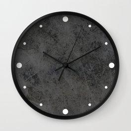 Bullet Gray Abstract Wall Clock