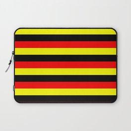 angola belgium uganda flag stripes Laptop Sleeve