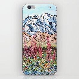 Denali Fireweed iPhone Skin