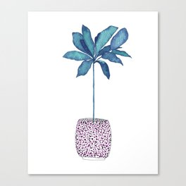 Planted Bliss Canvas Print