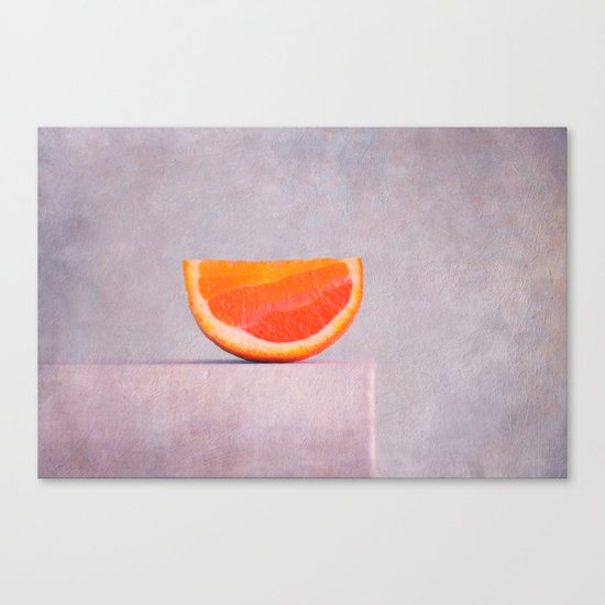 summer in orange Canvas Print