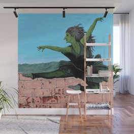 Goblin Ballerina Ballet Dancing Fantasy Art Wall Mural