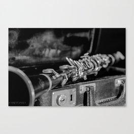 CLARINET CLASSIC Canvas Print