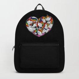 Heart Full Of Unicorns - Mythical Creature Backpack