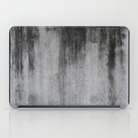 concrete iPad Cases featuring Concrete by Shamgar