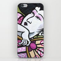 eric fan iPhone & iPod Skins featuring Fan by Eric Carlstrom