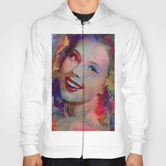 Smile of  Pin Up  Hoody