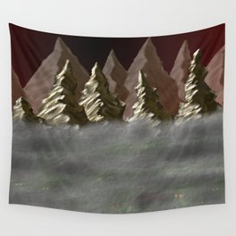Into the Mist Wall Tapestry