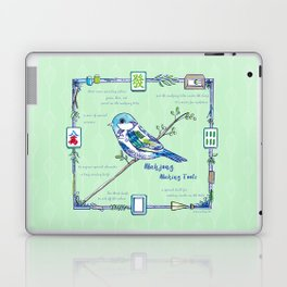 Sparrow Mahjong Laptop & iPad Skin