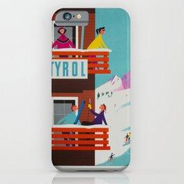 Vintage poster - Tyrol iPhone Case