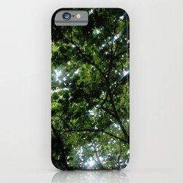 Nature and Greenery 7 iPhone Case