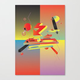 My Enemy Canvas Print