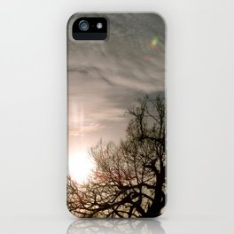 Holding the Sun iPhone Case