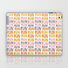 Pattern Project #19 / Run Run Run Laptop & iPad Skin