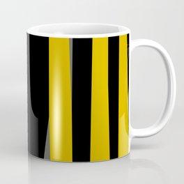 yellow gray and black Coffee Mug