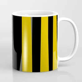 yellow gray and black Kaffeebecher
