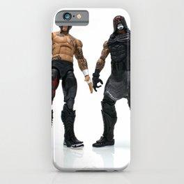 Lucha bro's up close iPhone Case