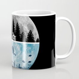 Close Encounters of the Moon Coffee Mug