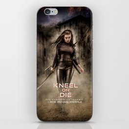 Kneel Or Die iPhone Skin