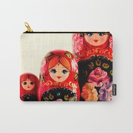 Babushka Russian Doll Carry-All Pouch