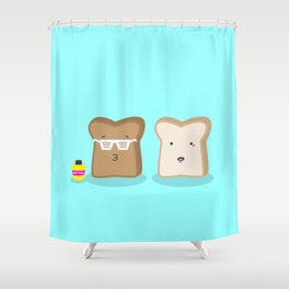 Toasty Cool Shower Curtain