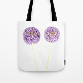 Onion Flower Tote Bag
