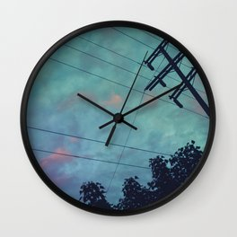Studio City Nights Wall Clock