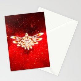 Zelda Red Nebula Stationery Cards