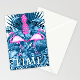 summer time tropical  Stationery Cards