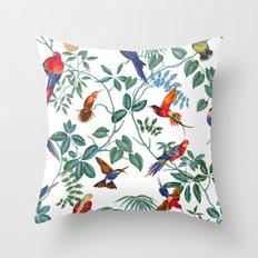 Birds XXVI Throw Pillow