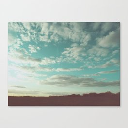 The pale faced traveler Canvas Print