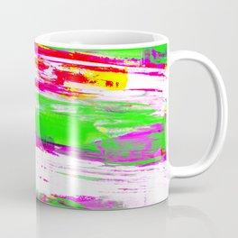 Neon Summer Abstract Coffee Mug