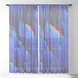 Creeping Melancholia Sheer Curtain
