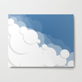 Cloud Eleven Metal Print