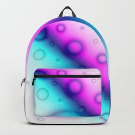 Bubbles Abstract Background G114 Backpack