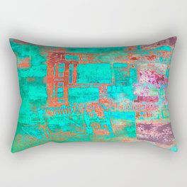 Abstract Ladder Rectangular Pillow
