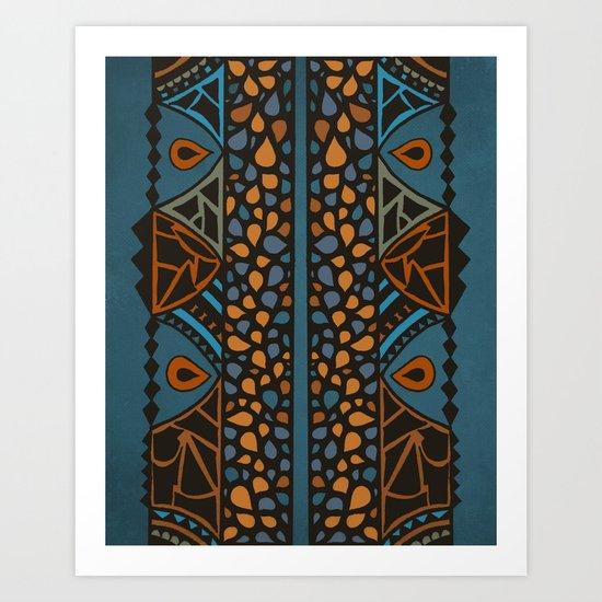 Textures/Abstract 50 Art Print