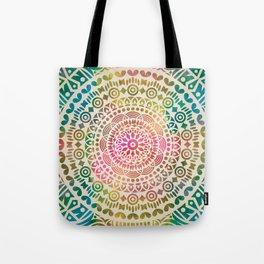 mandala12 Watercolor Mandala Tote Bag