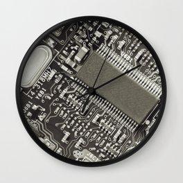 Circuit Board 4 Wall Clock