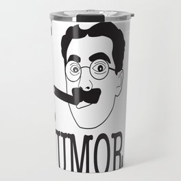 I __ Humor Travel Mug