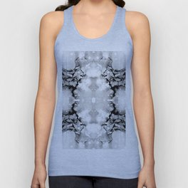 Design 94 abstract grayscale Unisex Tank Top