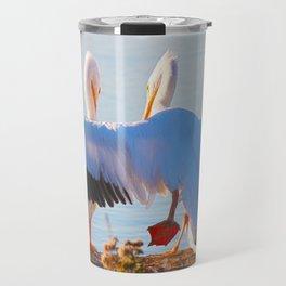 Pelican Wooing II aka Best Friends Travel Mug