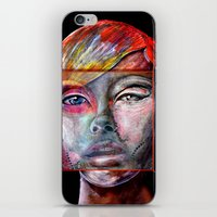 mirror iPhone & iPod Skins featuring mirror by Irmak Akcadogan