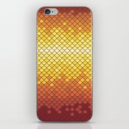 Dragonscale Dragonfire iPhone Skin