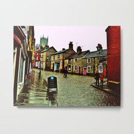 Steep Hill Metal Print